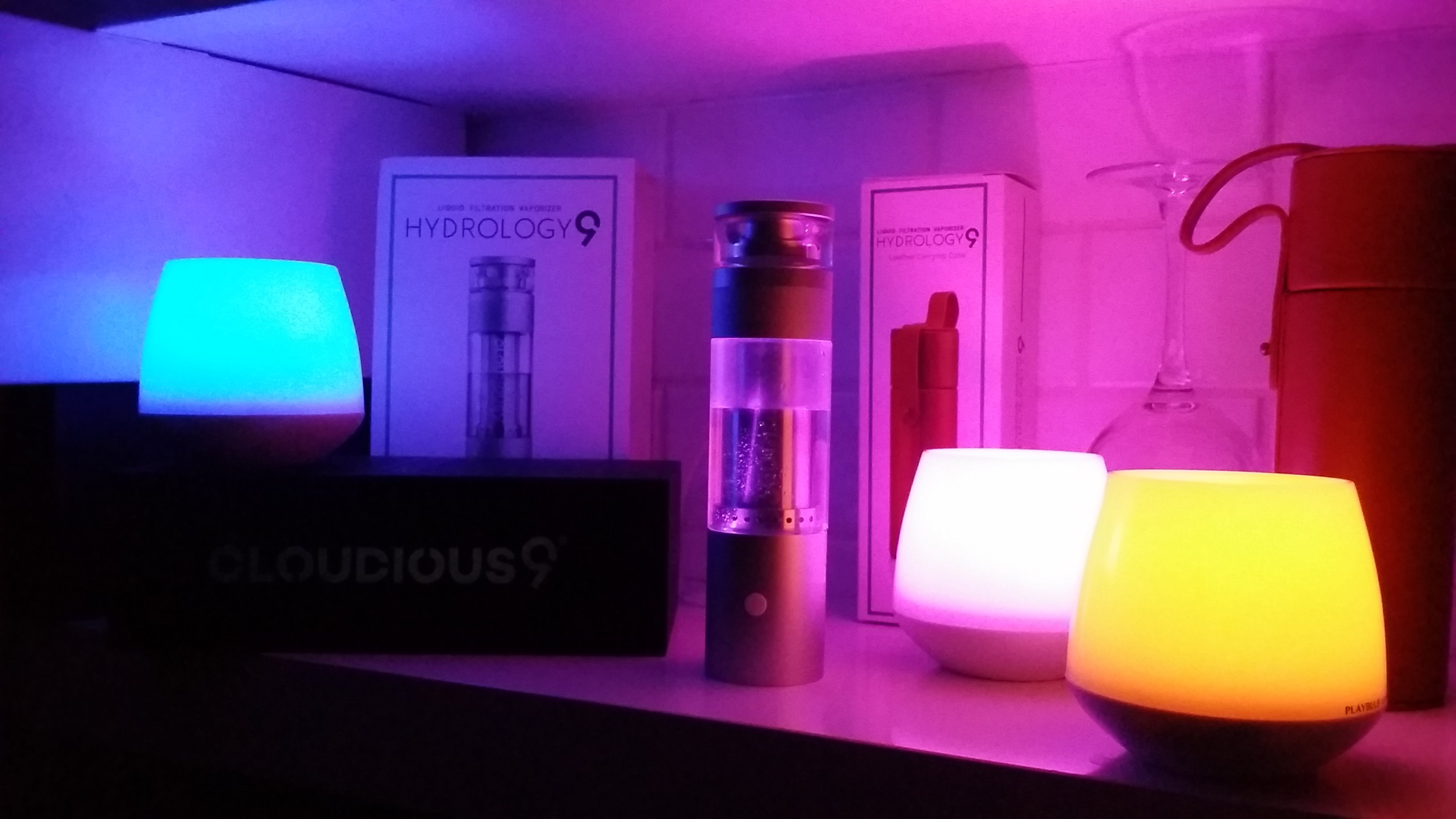 Hydrology9 Vaporizer Lights