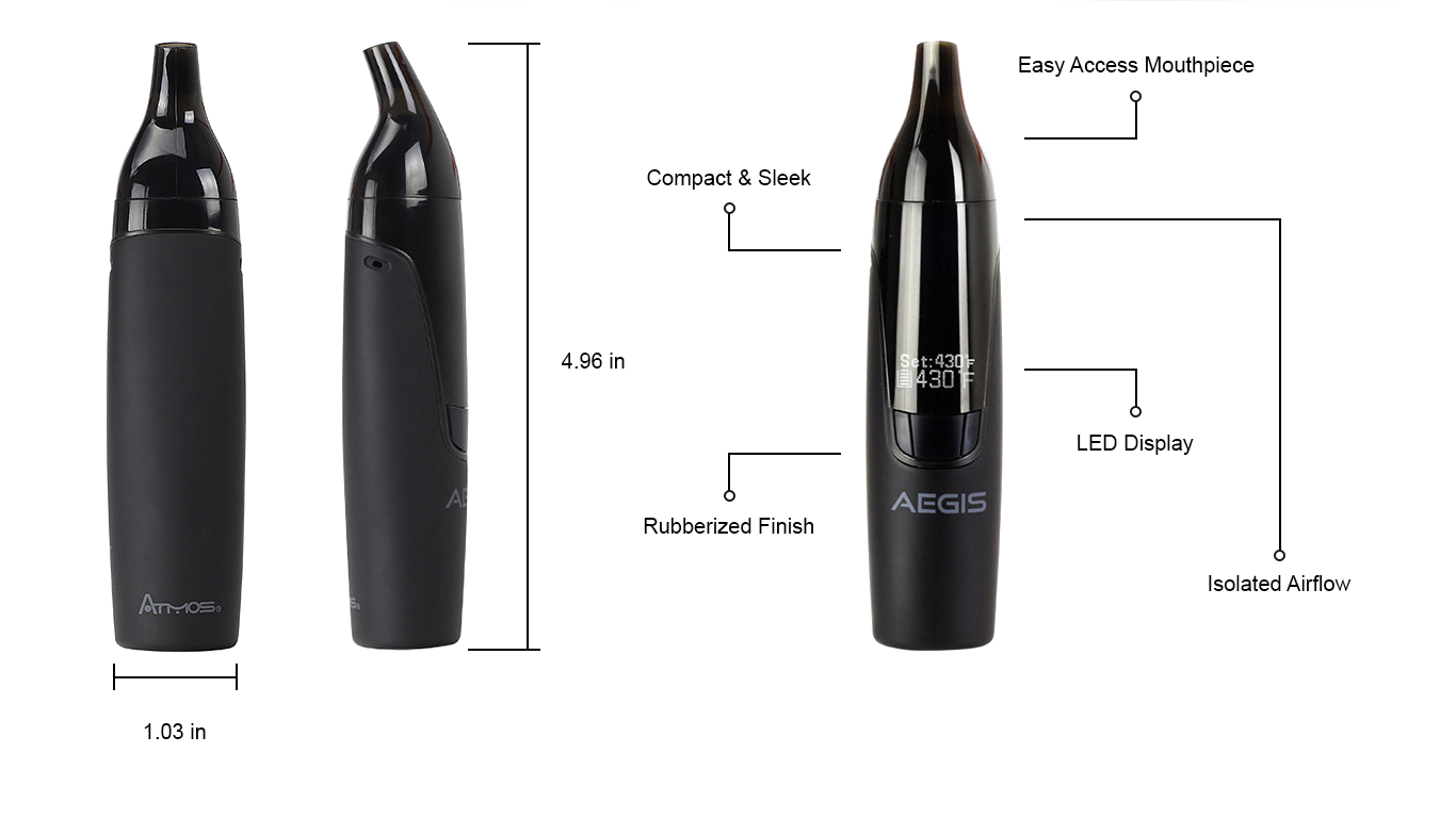 Aegis Vaporizer Review Convection Portable Vape Atmos