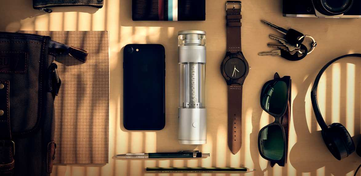 Smart Vaporizes Water Vape Hydrology 9 - Portable Water Filter Bong Device