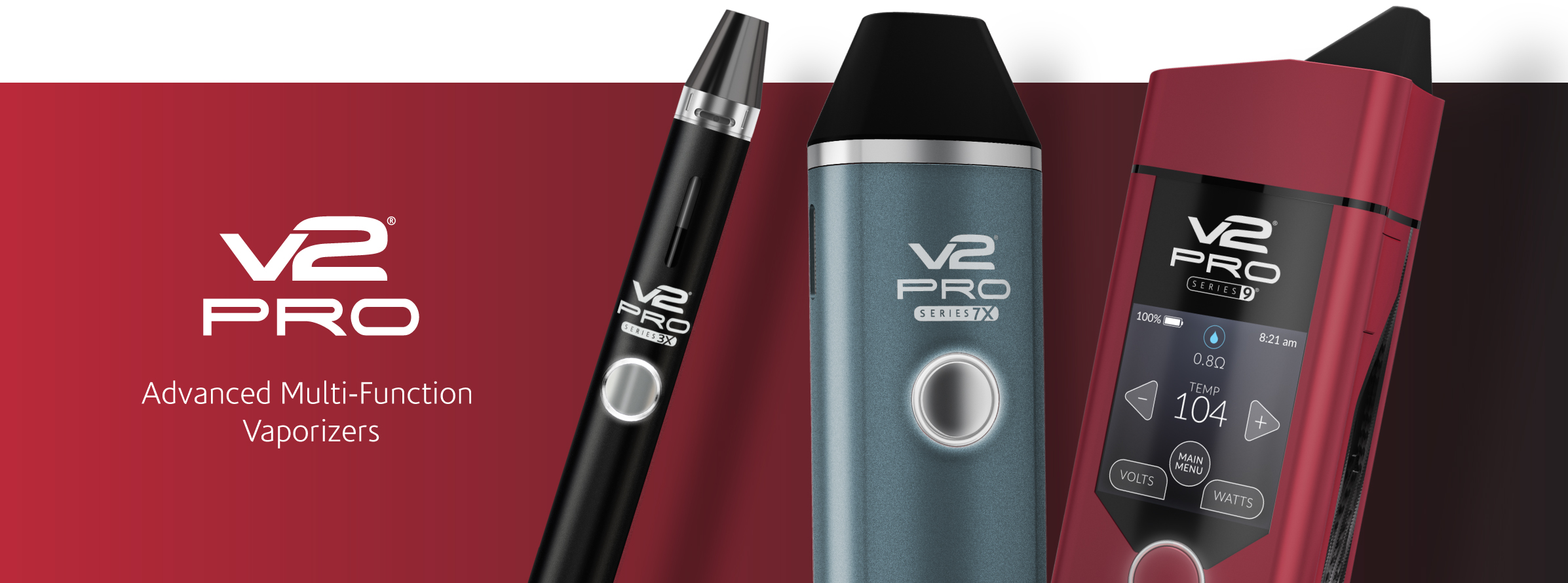 V2 Pro Vaporizers - Advanced Portable Vape Technology