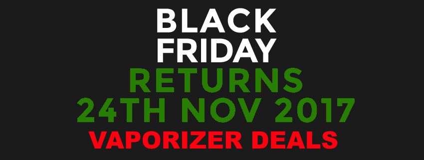 Black Friday Vaporizer Deals 2017