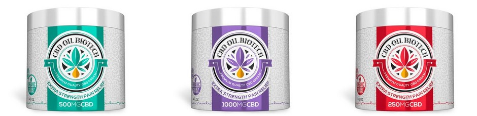 Biotech CBD Cream Pain Relief