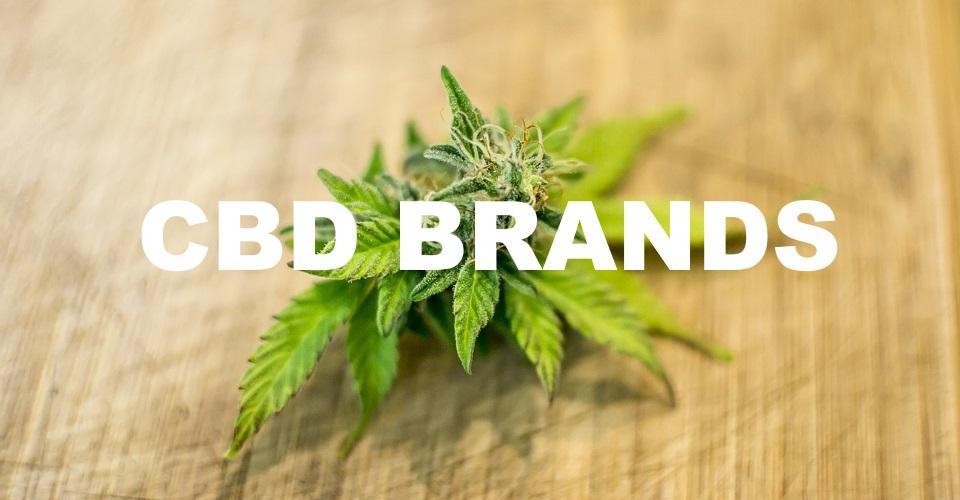 Popular CBD brands