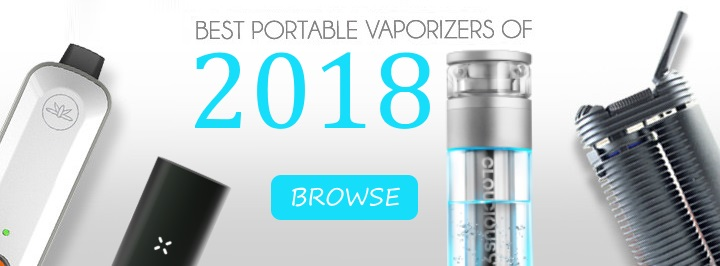 Best portable vaporizers of 2018 button