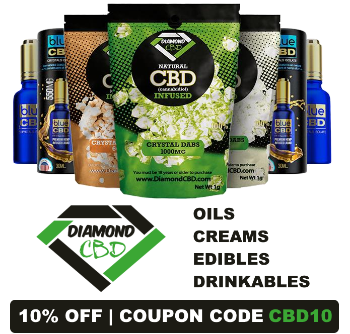 DiamondCBD Coupon Code
