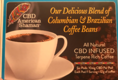 CBD Coffee – Infused Terpene Rich by CBD American Shaman
