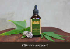 CBD Hemp Massage Oil Concentrate by Mana Botanics