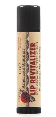 CBD Lip Revitalizer, Lip Balm by CBD American Shaman