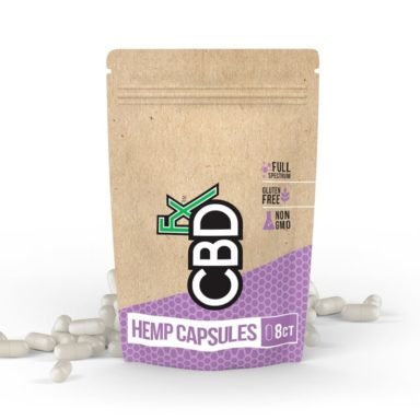 CBD Pills 8ct Pouch 200mg CBDfx