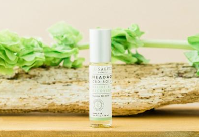 CBD Relief & Recovery Roll-On by Sagely Naturals