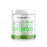 CBD Superfood Green Powder by NanoCraft CBD