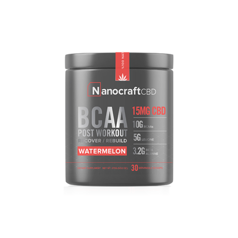 CBD Supplement BCAA CBD Workout Powder