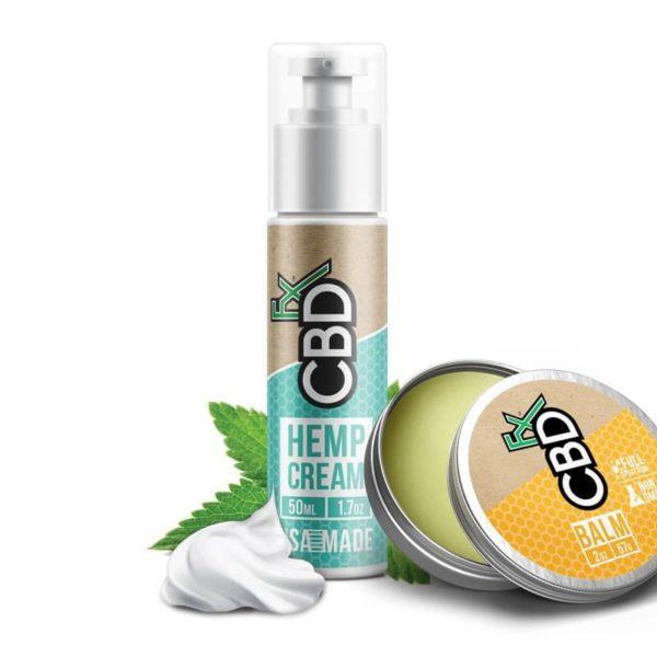 CBD Topical Bundle Deal - Balm and Cream