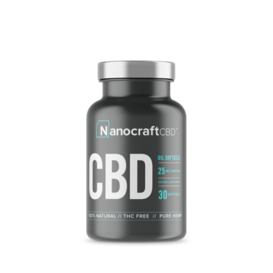 Full Spectrum CBD Oil Softgels by NanoCraft CBD™