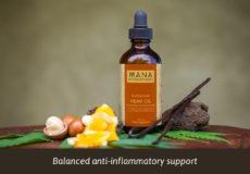 Hemp Oil Macadamia, Turmeric & Vanilla by Mana Botanics