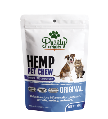 Hemp Pet Treats 150mg by Purity Petibles