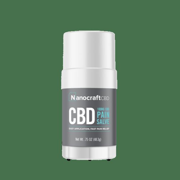 NanoCraft CBD™ CBD Pain Salve Stick 100mg