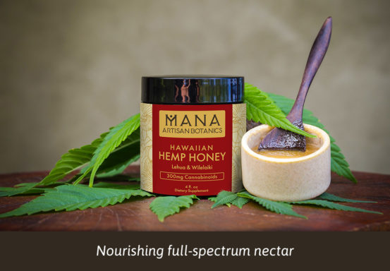 PCBD Hemp Honey – Lehua & Wilelaiki by Mana Botanics