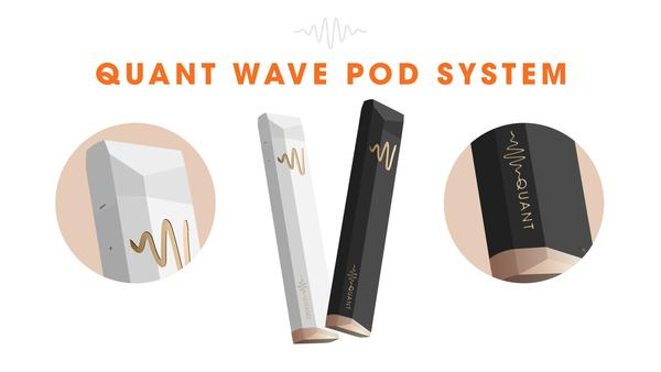Quant Wave Portable Oil Vaporizer Pod System