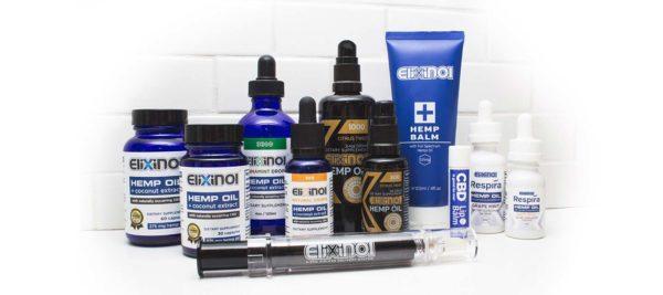 Elixinol CBD brand