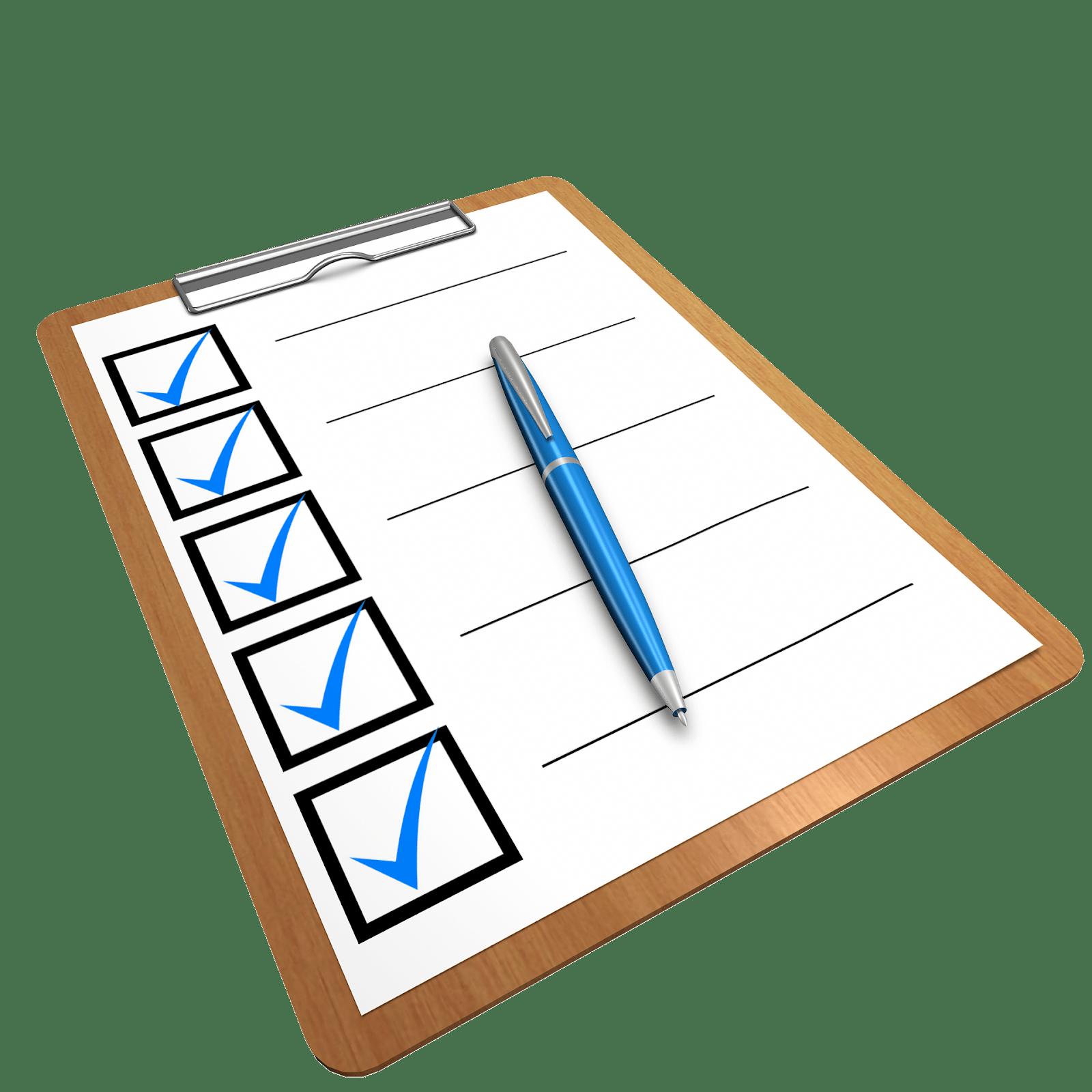 Cannabis checklist